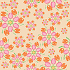 Nice tulips seamless | Stock Vector Graphics