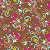 Vector clipart: Flower seamless pattern, element for design, ill