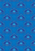 Vector clipart: Blue background with oriental ornaments