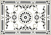 Vector clipart: Decorative frame of oriental pattern