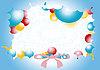Beautiful festive greeting card   Stock Vector Graphics