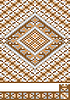 Vector clipart: Carpet, piece of ornament