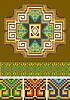 Векторный клипарт: Ковер, часть орнамента
