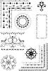 Vector clipart: Decorative border, ornamental frames