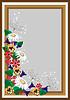 Векторный клипарт: рамка с полевыми цветами
