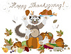 Vector clipart: Happy Thanksgiving