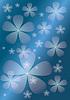 ID 3328823 | Abstrakter blauem Hintergrund mit transparenter Blume | Stock Vektorgrafik | CLIPARTO