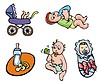 Babies | Stock Vector Graphics