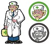 Vector clipart: Physician (doctor)