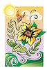 Vector clipart: Flower Fairy