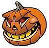 Vector clipart: Jack-O-Lantern