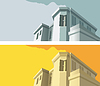 Vector clipart: Old-fashioned building