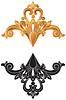 Золотое украшение | Векторный клипарт