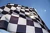 Checkered flag | Stock Foto