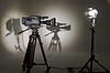 ТV-Kamera im Studio | Stock Foto