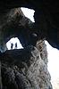 Cave.Silhouette / | Stock Foto