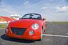 Rotes Auto | Stock Foto