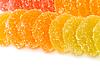 Marmalade slices | Stock Foto
