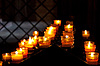 Burning candles | Stock Foto