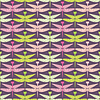 Vector clipart: dragonflies - seamless pattern