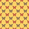 Butterfly - seamless pattern | Stock Vector Graphics