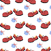 Vector clipart: Shoes - seamless pattern
