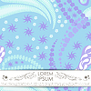 Vector clipart: Card with decorative elements