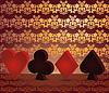 Gambling Poker background 3D