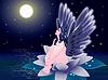 Векторный клипарт: Падший ангел.