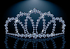 Pretty diamond princess diadem