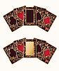 Два баннеры черный покер карты