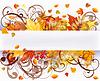 Autumn seasons card