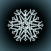 Brilliant snowflake