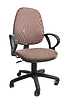 Office chair on wheels. object on white   Stock Foto
