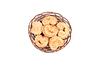 바구니 네덜란드어 쿠키   Stock Foto