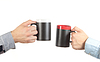 Businessman hand holding cup of tea | Stock Foto