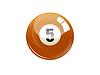 Number five billiard ball | Stock Illustration