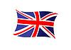 Фото 300 DPI: Union Jack государственного флага Соединенного Королевства (Великобритании)