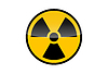 Radioactive round sign | Stock Illustration
