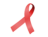 Aids awareness red ribbon | Stock Illustration