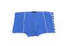蓝色男式平角内裤白色 | 免版税照片