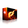Box with fireworks | Stock Illustration