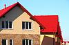 ID 3323199 | Dom z dachu wykonane z płytek | Foto stockowe wysokiej rozdzielczości | KLIPARTO