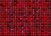 凸梯度广场摘要红色背景   光栅插图