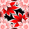 Photo 300 DPI: abstract frame applique flower