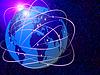 글로벌 인터넷 통신 기술   Stock Illustration