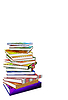 Stack of books | Stock Illustration