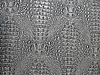 Photo 300 DPI: white crocodile snakeskin, seamless texture , stress