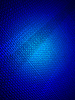 Magic blue light over metal surface, science | 光栅插图