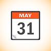 Vector clipart: calendar.
